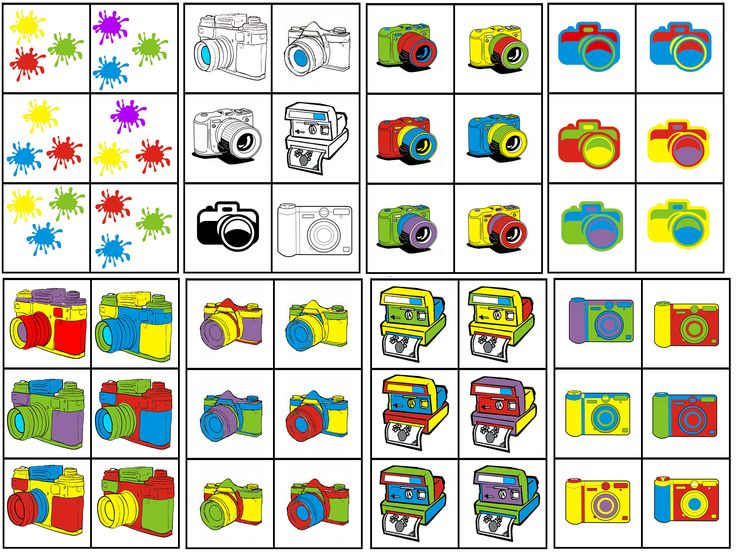 matrix fotograaf: combineer fototoestel met 3 kleuren