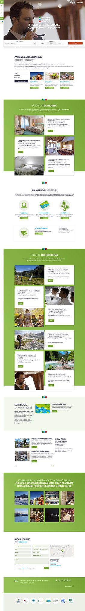 #comanocattoniholiday www.comanocattoniholiday.it #kumbe #webdesign #portfolio #hotel #cattoni #holiday #vacanza #outdoor #terme #dolomiti #sapori #tradizioni #offerte #dependance #affittacamere #bedandbreakfast #residence #booking #esperienza #bike #natura #fishing #comanoterme #comano #trentino