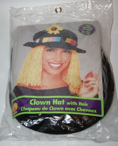 Clown Hat Squirt Flower Hair Comedy Circus Novelty Costume Prank Gag Joke Prop | eBay $16.99