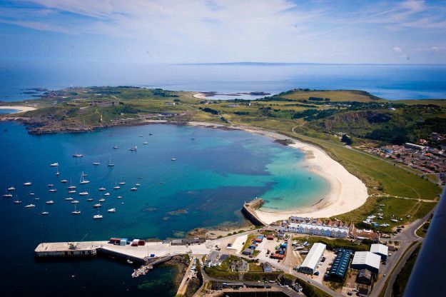 Alderney, an island only 3.5 miles long, teeming with natural beauty and history. | 47 Scenic As Hell Places In Britain That Aren't London