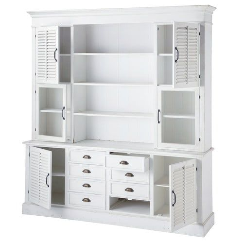 1000 id es sur le th me vaisselier blanc sur pinterest commodes cage du campagne et clapier peint. Black Bedroom Furniture Sets. Home Design Ideas