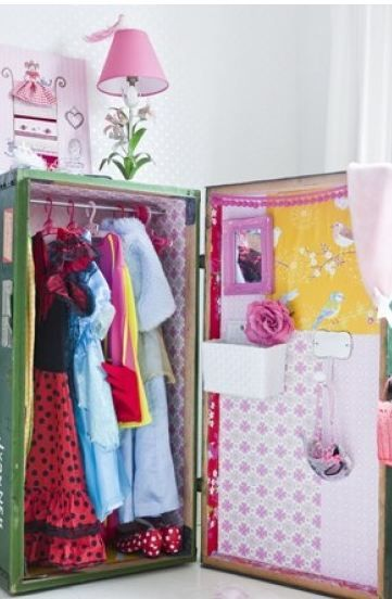 7 best dress up images on pinterest playing dress up storage idea solutioingenieria Images