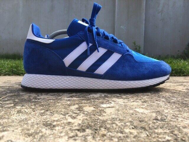 Adidas ® Forest Grove Size 10 UK EU 44 23 Originals BLUE