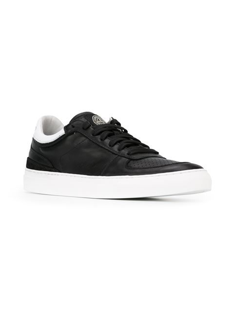 Stone Island perforated panel sneakers