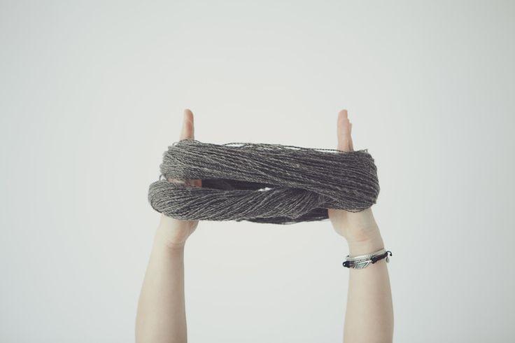 Yarn from norwegian wool