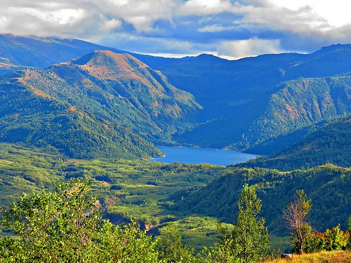 Viewpoint at Castle Lake, Mt. St. Helens National Volcanic Monument, WA | Flickr - Photo Sharing