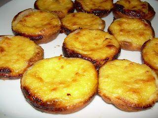 Pasteles de Nata (Pasteles de Belén) (Receta Portuguesa)
