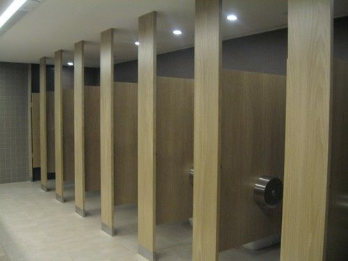 Commercial bathroom dividers