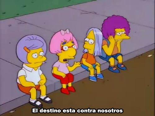 """ mas Simpsons aqui """