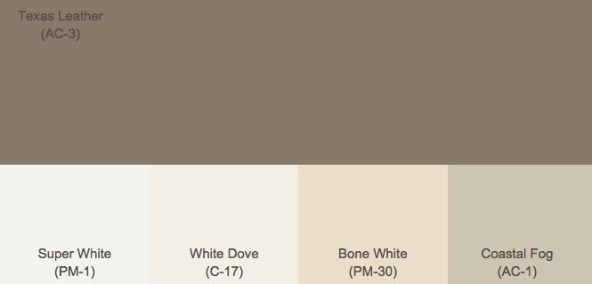 Dark Brown Exterior Paint | Dark, deep, chocolaty browns.