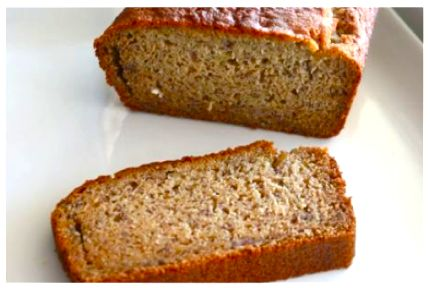 Banana Bread This bread is gluten free, dairy free, and refined sugar free, making it a healthy substitution for regular banana bread and great for kids with food sensitivities.