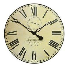 Glasgow Station Vintage Wall Clock