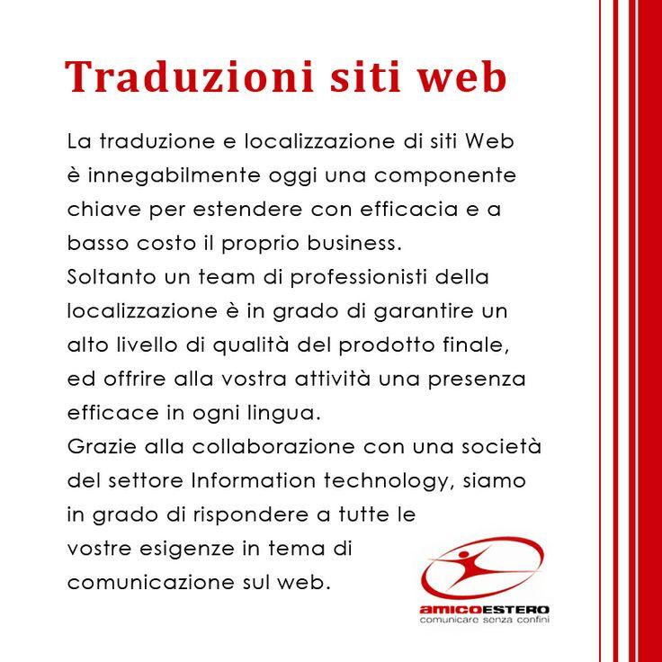 Traduzioni siti web!