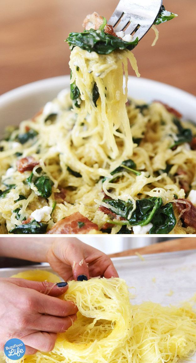 Perfect spaghetti squash. | 24 Crazy Delicious Recipes That Are Super Low-Carb