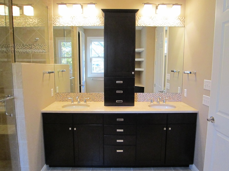 master bath vanity custom homes cincinnati ohio robert lucke group long cove - Bathroom Cabinets Cincinnati