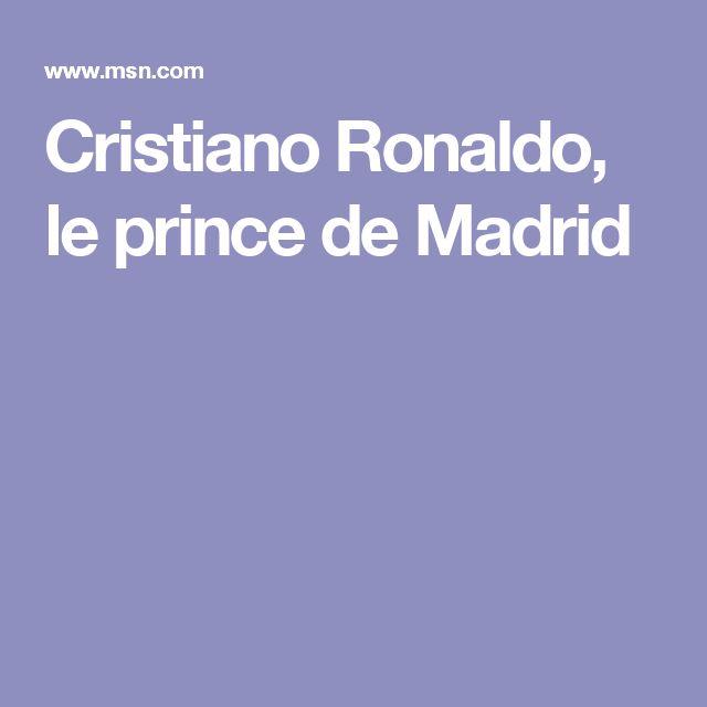 Cristiano Ronaldo, le prince de Madrid