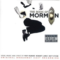 The Book of Mormon Soundtrack ... Best Musical Theater Album (winner) I listen to it in my car. I listen to it when i get home on my computer. I'm listening to it as i type and while i surf Pinterest. Obsessed? YOU BET!! :D