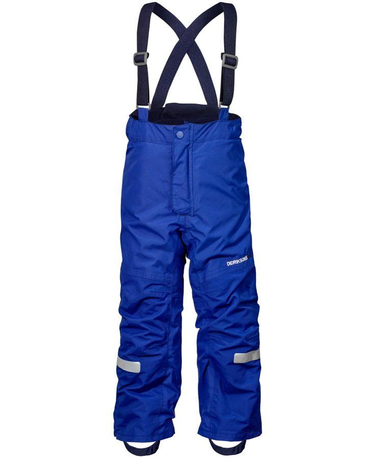 Didriksons Idre Kids Ski Pants - Cobalt Blue