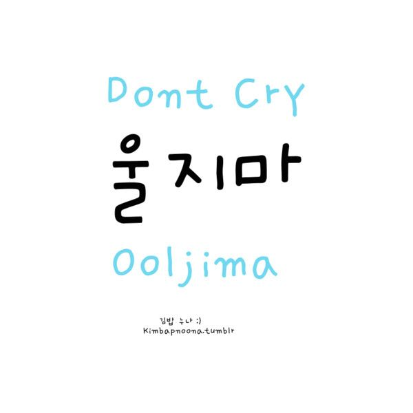 Kimbap Noona's Korean Lessons ❤ liked on Polyvore featuring words, korean, text, hangul, quotes, filler, phrase and saying