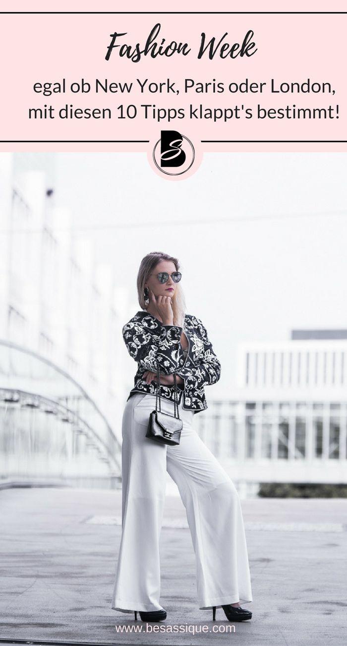 Mit diesen 10 ultimativen Tipps kommst du ganz einfach auf die Fashion Week in New York, Paris. London oder Berlin. Klicke hier für unglaubliche Fashion Week Tipps. https://besassique.com/fashion-week-tipps/ #fashionweek #fashionweeknewyork #fashionweekparis #fashionweeklondon #fashionweekberlin #mbfw