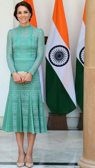 Duchess Catherine and Prince William met with Narendra Modi