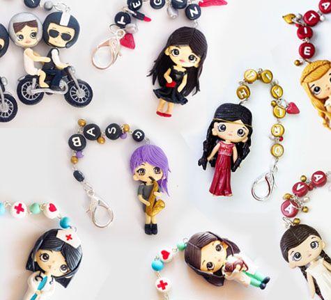 Custom Key Rings