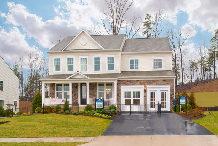 The Carey At Cardinal Grove Modelhome Stanley Martin Exteriors Pinterest Best Northern