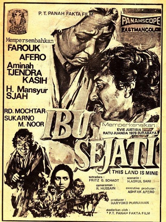 Indonesian cinema poster