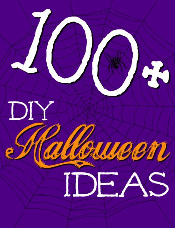 100+ DIY Halloween Ideas