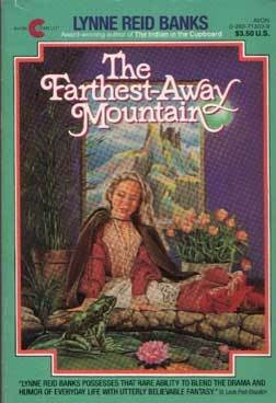 This is the first fantasy book I ever read - The Farthest-Away Mountain by Lynne Reid Banks. She also wrote the Indian in the Cupboard series. Easy to read, great heroine who takes initiative. I really enjoyed it when I was ten years old and I still like it now. :-)