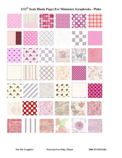 Dollhouse Photography Calendar : Best images about mini scrapbooking on pinterest