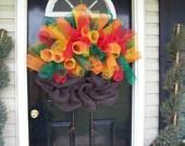 Turkey: Turkey Wreaths, Thanksgiving Wreaths, The Doors, Thanksgiving Turkey, Mesh Turkey, Fall Harvest Thanksgiving Diy, Wreaths Ideas, Front Doors Wreaths, Deco Mesh