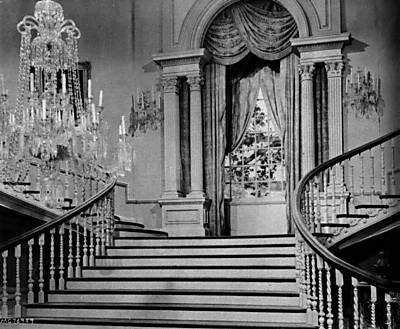 The actual stairs from Twelve Oaks as seen in Gone With The Wind