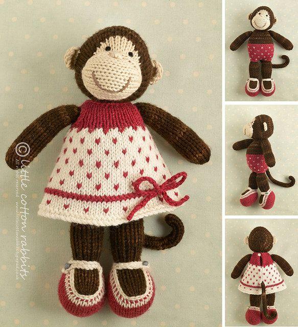 Девушка обезьяна | по littlecottonrabbits