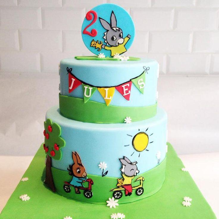 Trotro Birthday Cake