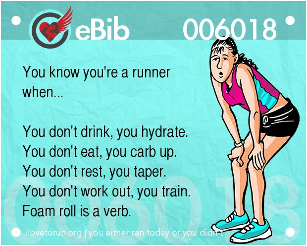 eBibs™ are runner's eCards.