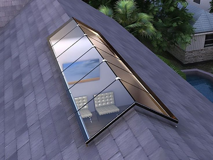 Structural Ridge Standardized Glass Skylight - Bellwether Design Tech