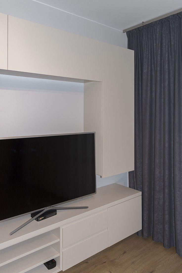 Komoda pod telewizor ścianka telewizyjna - zdjęcie 4