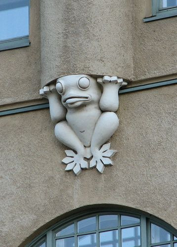 Great architectural detail in Helsinki (the city is full of them)