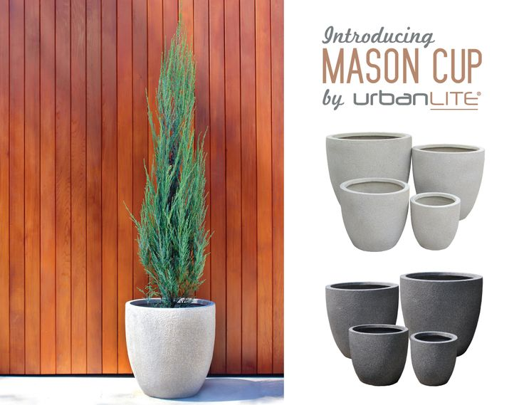 We wanted to introduce you to our new urbanLITE Mason 'family' of pots! Pots in the collection are lightweight - roughly half the weight of standard clay pots! And stylish! They feature a sandy, rough texture, which is very Euro, chic and on trend – how many ways can we say it! They come in a range of modern shapes and natural colours, perfect for contemporary courtyards and balconies. Let us know what you think? http://www.northcotepottery.com/pottery/urbanlite