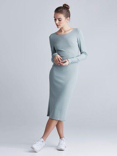 Dress #blue #fashion #simple #dress #bikbok