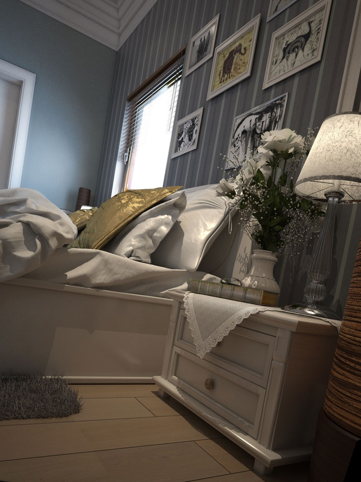 Bedroom Guests House Nigeria by Dimitar Gongalov