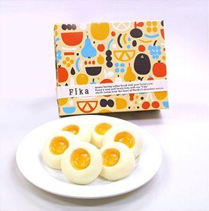 北欧菓子専門ブランド「Fika」外装も北欧デザイン