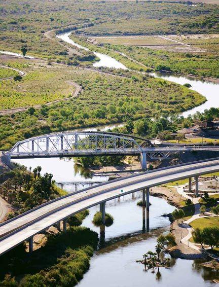 Ocean to Ocean Bridge ~ Yuma, Arizona