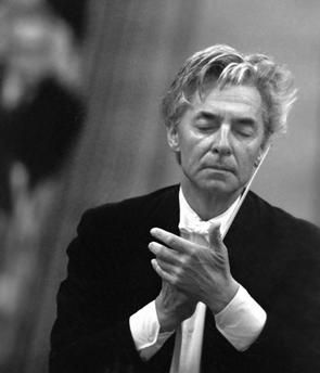 Austrian conductor Herbert von Karajan at the concert. Leningrad Philharmonic Hall (currently St. Petersburg Academic Philharmonic named after Dmitry Shostakovich), 1969. AKG1186558 © akg-images / RIA Nowosti