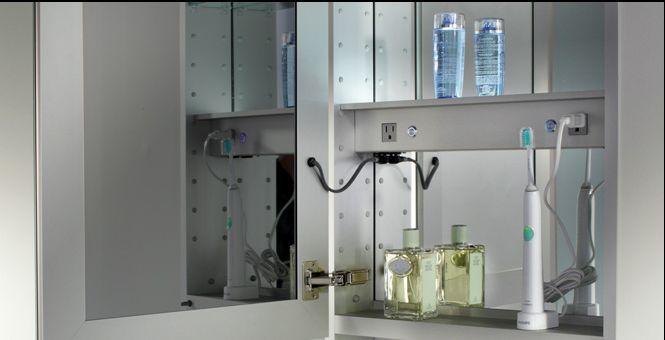 Fresh Electric Mirror Medicine Cabinet