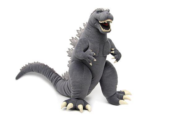Image detail for -Godzylla.com Lovable Plush Godzilla Toy Vault Toys