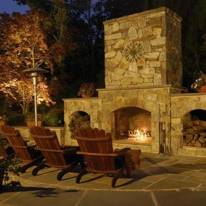 198 Best Outdoor Fireplace Ideas Images On Pinterest | Terraces, Patio Ideas  And Backyard Ideas