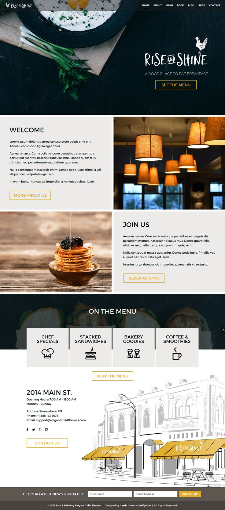 Beautiful WordPress Themes for Divi by Elegant Themes. From quality code to elegant design, our themes are built with the user's experience in mind.
