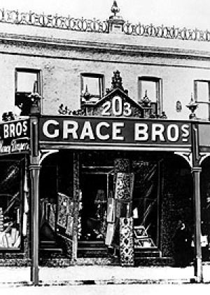 In the beginning ... the original Grace Brothers store in George Street, Sydney